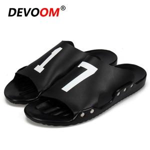 Best Price Fashion Fish Slippers Pantoufles Man Slippers Summer Sandals Men Black Flip Flops Men Mens Slides Digital Shoes Men Large Size