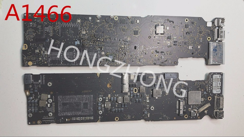 2015years Repair 820-00165-A/02 820-00165 Faulty Logic Board For A1466 Motherboard Repair Presented A Smc Stencil