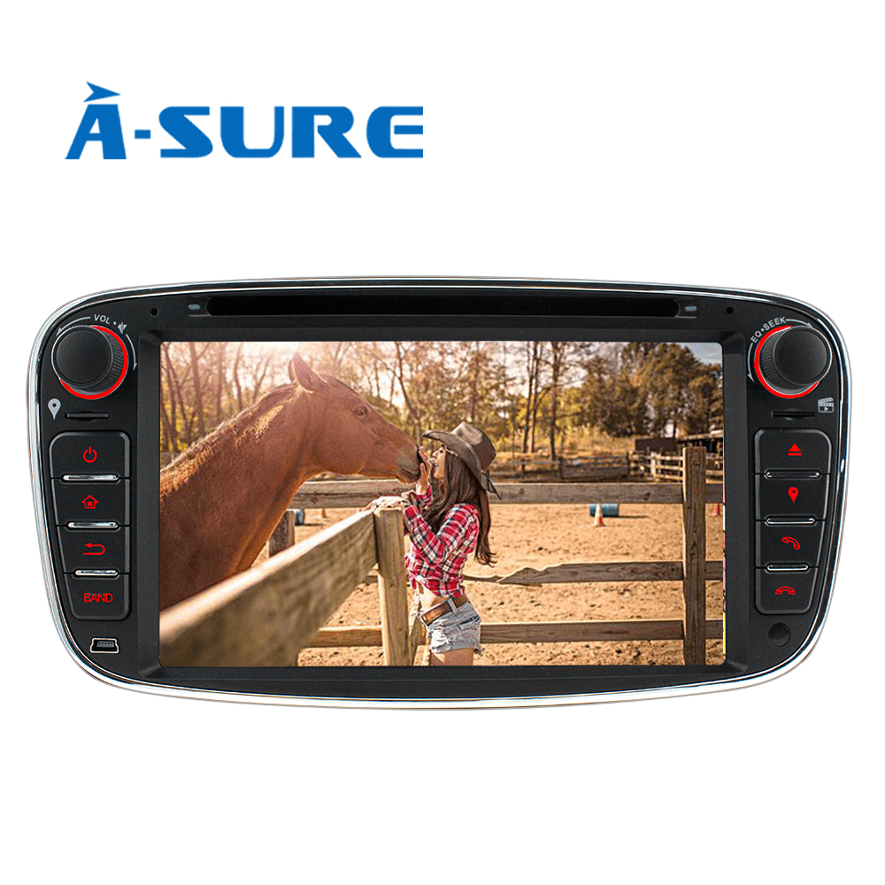A Sure 7 Car Radio Player GPS Rear USB Port & Dual TF SD Card DAB+ RDS radio for Ford Mondeo Focus Galaxy S Max C Max Kuga