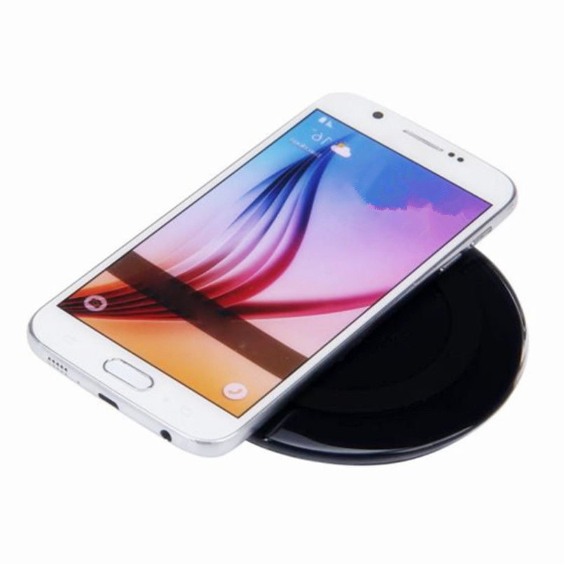 2017 Universal Qi Wireless Charger Charging Pad for Samsung Mobile phone Battery charger ...