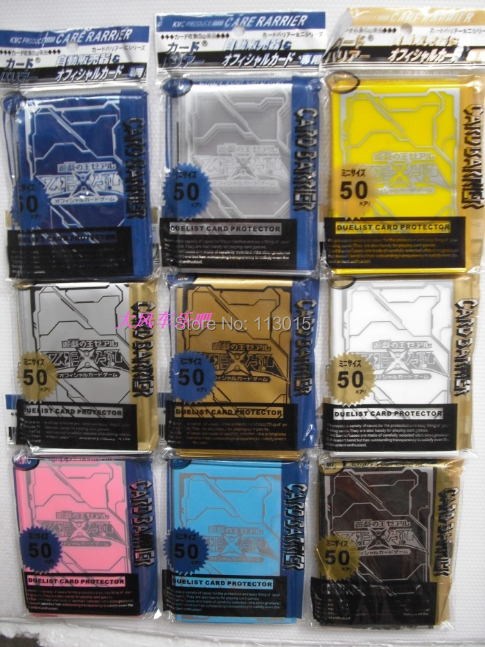 KMC 50 PCS/PACK YuGiOh Game Collection Card sleeves Cards Protecto ZEXAL / 5DS / Board games 50 pcs in pack image