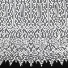 3Meter/lot 150cm Nylon Eyelash lace trim white black clothes fabric diy accessories wedding dress