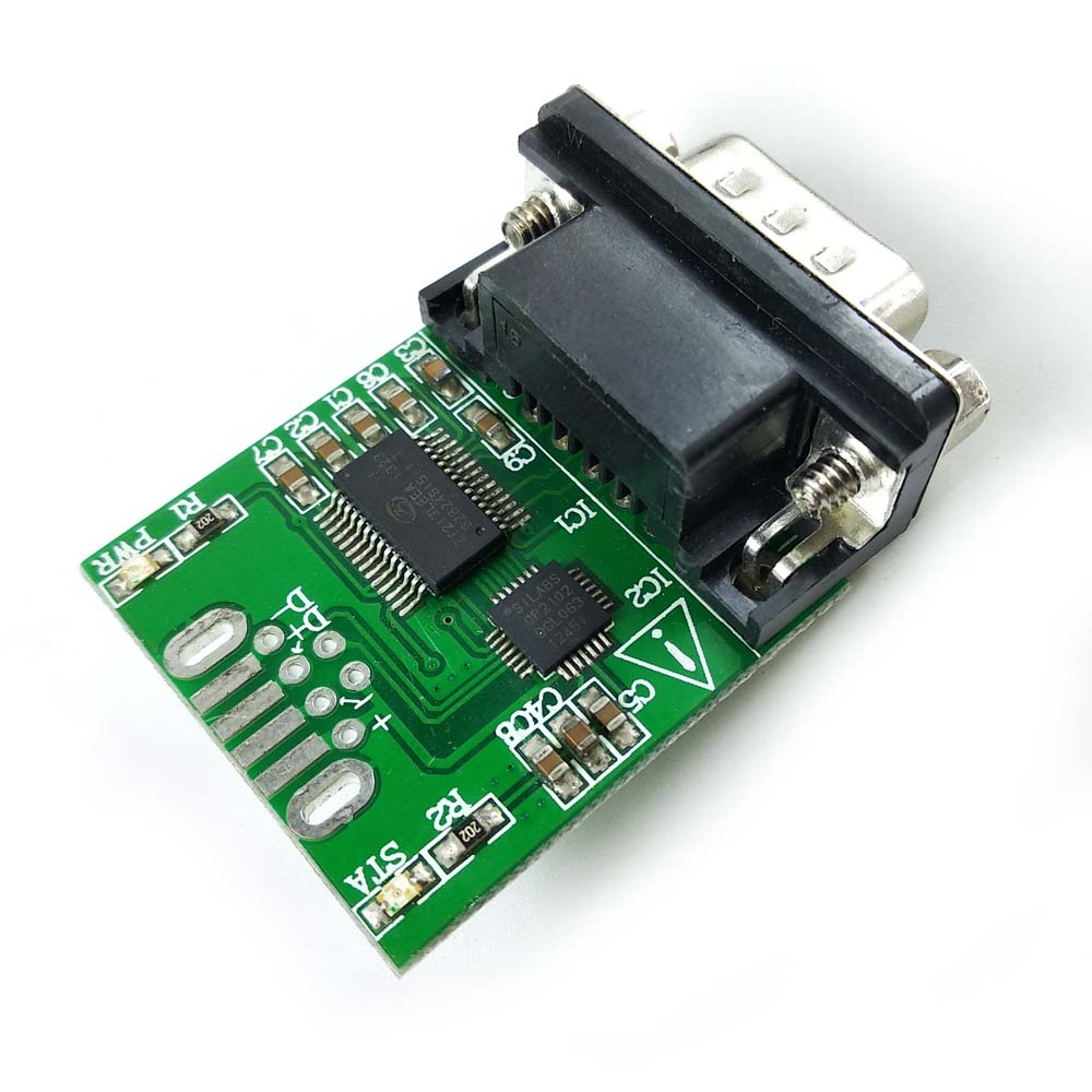 Win10 sinforcon cp2102 ftdi ft232rl usb rs232 adapter met pc db9 - Computer kabels en connectoren - Foto 1