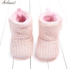 ARLONEET/Обувь для новорожденных девочек; Теплая обувь для малышей; обувь для маленьких девочек; детская обувь для девочек 1 год; зимняя детская обувь