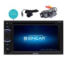 "Camera+Quad-core 6.2"" Android 6.0 Car Stereo 2 Din in Dash GPS Navigation Radio Support Mirroring USB OBD2 WIFI+External Micro"