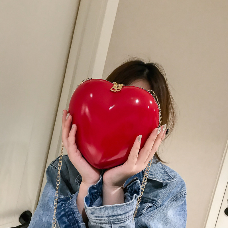 На новом мини-кошельке Love 0, суперпожарная модная Корейская версия, однотонная милая маленькая сказочная сумка через плечо, женская сумка