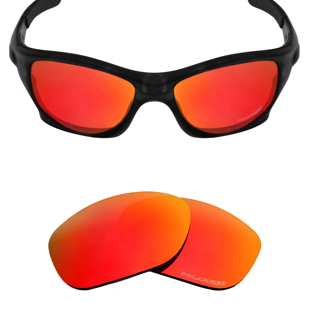 2da013f050 Mryok+ POLARIZED Resist SeaWater Replacement Lenses for Oakley Pit Bull Sunglasses  Fire Red-in Accessories from Apparel Accessories on Aliexpress.com ...