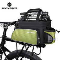 Rockbros 2017 Mountain MTB Road Bike Bags Multifunction Cycling Bags Bicycle Bags Accessories Rear Back Riding