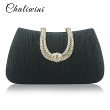 Handbag Women  Evening Bag Crystal Stones Evening Bags Ladies Luxury Shape Party Bag Female Clutches Wedding Purses Clutch
