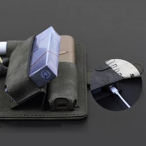 Image 2 - JINXINGCHENG mode couverture de livre à rabat pour iqos Multi 3.0 porte étui couverture portefeuille en cuir étui pour iqos 3 Multi