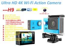 Freeshipping 4 К 25Fps водонепроницаемый действий камеры H9Rse H9se WIFI 1080 P литиевая аккумуляторная батарея камера спорта