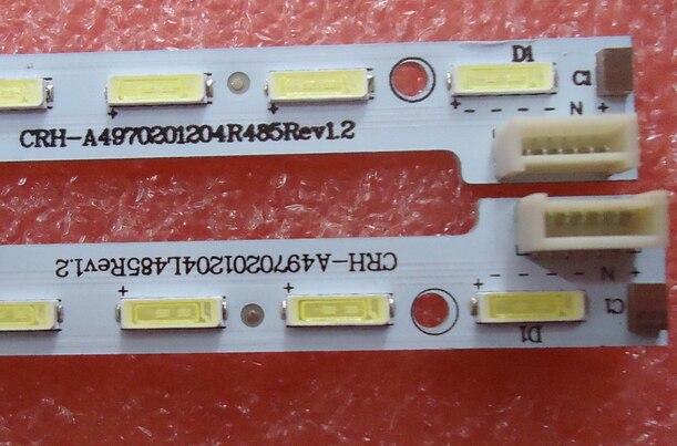 Rétro-éclairage led screen49E710U CRH-A4970201204R479 Rev1.1 1555-R490010 1 pièces = 48led 540mm