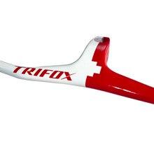 TRIFOX углеродный велосипед рули и стволовые интегрированные 28,6 мм, 600-800 мм, углеродные Рули стояки для горные велосипеды MTB