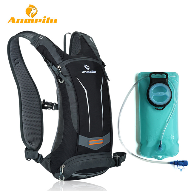 ANMEILU 2L Water Bag 8L Waterproof Cycling Backpack Outdoor Hiking Climbing Camping Hydration Backpack Sport Water Bladder Bag