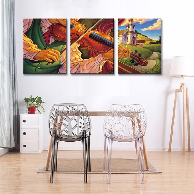 3 Stück/set bunt porträtmalerei auf leinwand gedruckt mit frames ...