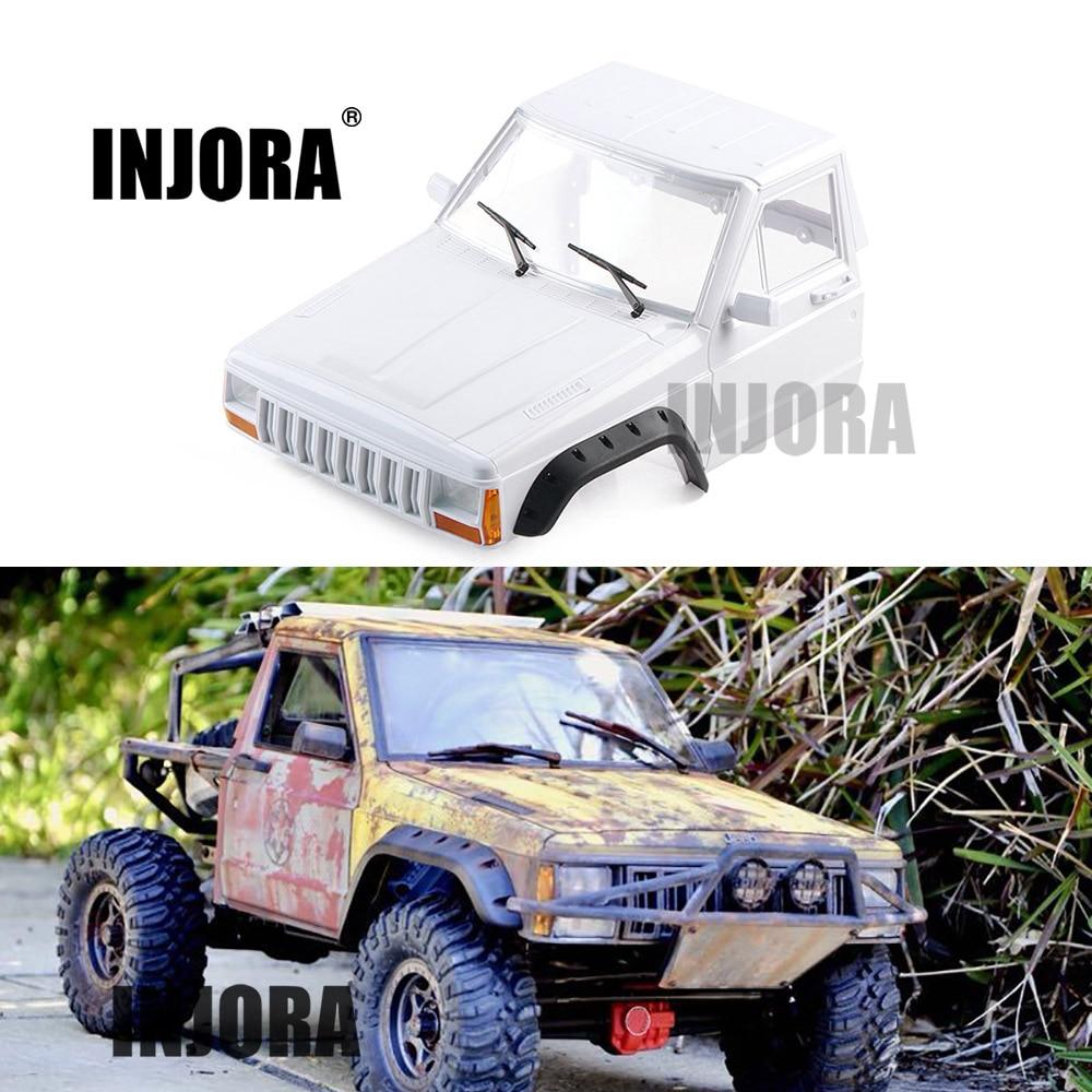 INJORA RC Car Cherokee Pickup Head Part Body Shell for 1 10 RC Crawler Axial SCX10
