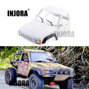 INJORA RC Car Cherokee Pickup Head Part Body Shell for 1/10 RC Crawler Axial SCX10 90046 90047 D90 - DISCOUNT ITEM  30% OFF All Category