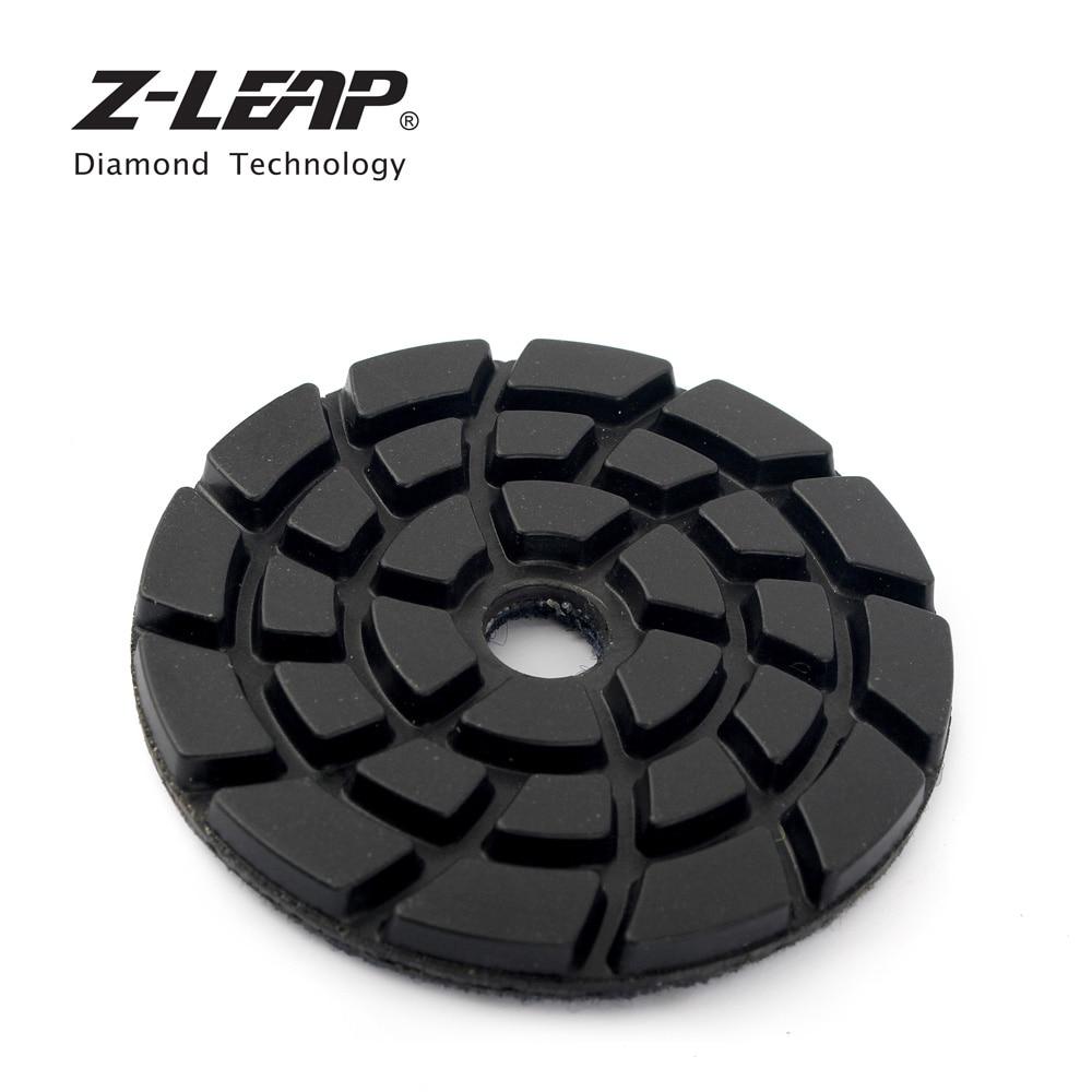 Us 23 99 20 Off Z Leap 3 Inch 7pcs Diamond Polishing Pad Kit Turbo Concrete Floor Grinding Disc Wet Use Marble Terrazzo Abrasive Sanding Tools In