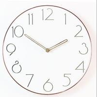 Ultra Thin Simple Design Classic 12 inch Wall Clock Fashion Silent Living Room Wall Decor Saat Home Decoration Watch Wall Gift
