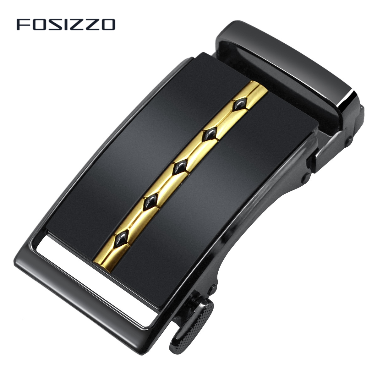 FOSIZZO New Fashion High Quality Men's Buckle Zinc Alloy Automatic Buckle 3.6CM #1093