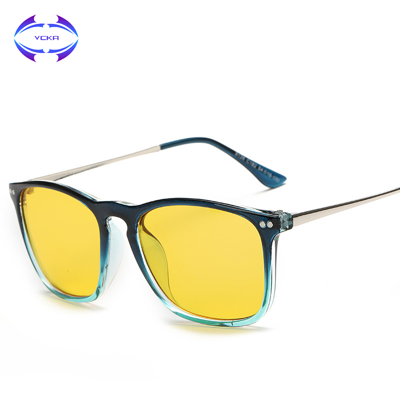 VCKA 2017 New Fashion Computer Eyewear Glassess Anti Radiation and Anti Blue Rays Gaming Glasses Goggles Computer Glasses