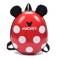 HOT superwings Mickey โรงเรียนกระเป๋าเด็กกระเป๋าเป้สะพายหลังเด็กอนุบาล Mickey กระเป๋าเป้สะพายหลังสำหรับสา...