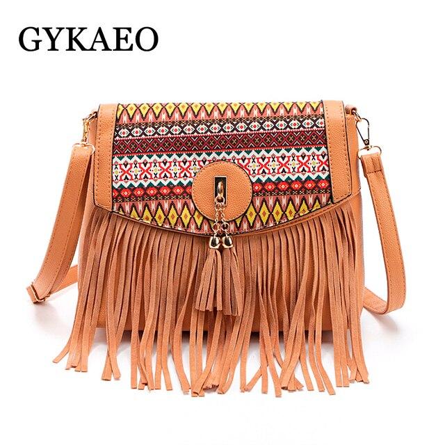 Sacos mulheres mensageiro bolsas femininas marcas famosas 2018 franja  pendão saco de bolsas de marca de abe7d4ca898