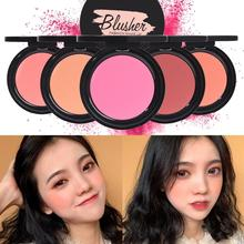 6 Colors Face Mineral Pigment Blusher Blush Powder Brozer Cosmestics Professional Palette Contour Shadow