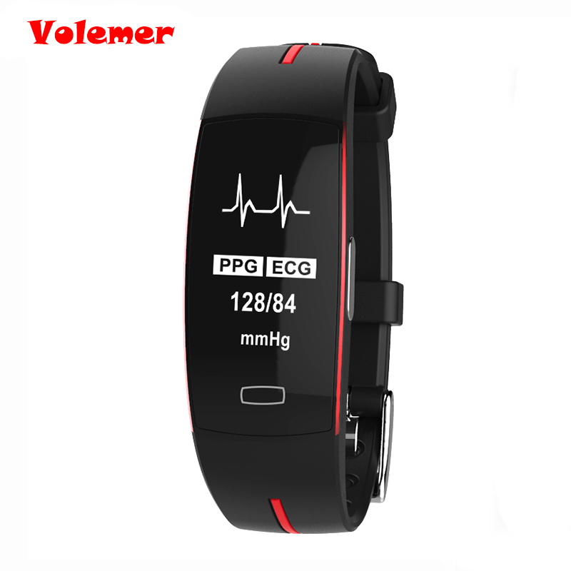 Volemer P3 Smartwatch bracelet blood pressure Heart rate monitor fitness watches cicret bracelet smart wristband For iOS Android