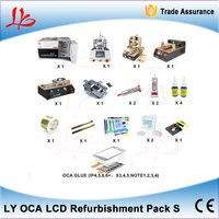 Full Set LCD Refurbish Machine LCD Repair Machine KA OCA Lamination Machine+Automatic Glue Remover Machine+LCD Separator