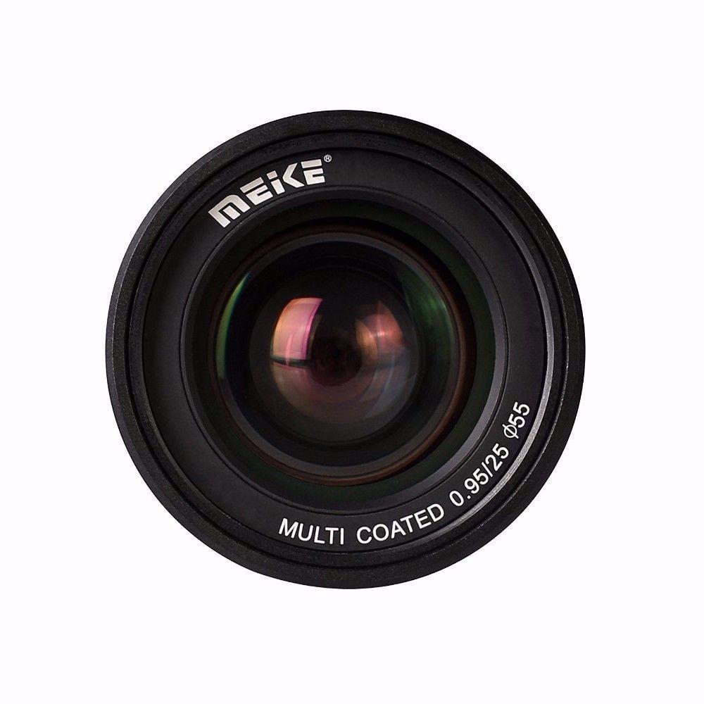 Meike MK-FX-25-0.95 25mm f/0.95 Super Large Aperture Manual Focus lens APS-C For Fujifilm Mirrorless Cameras XT1 X-E1 etc 50mm f2 0 aperture manual focus lens aps c for eosm nikon1 m43 sony e mount nex3 5t 6 7 a5000 a6000 a6300 fuji xt1 camera