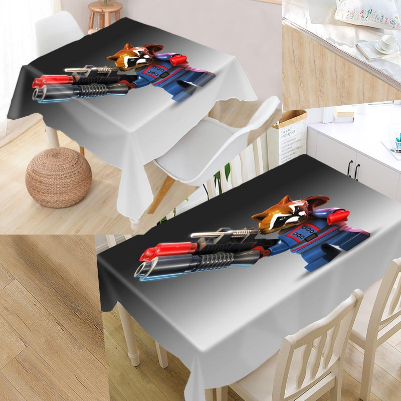 Aliexpress.com : Buy High Quality Custom Lego Tablecloth Rectangular  Waterproof Dustproof For Kitchen Home Decoration Table Cover From Reliable  Tablecloths ...