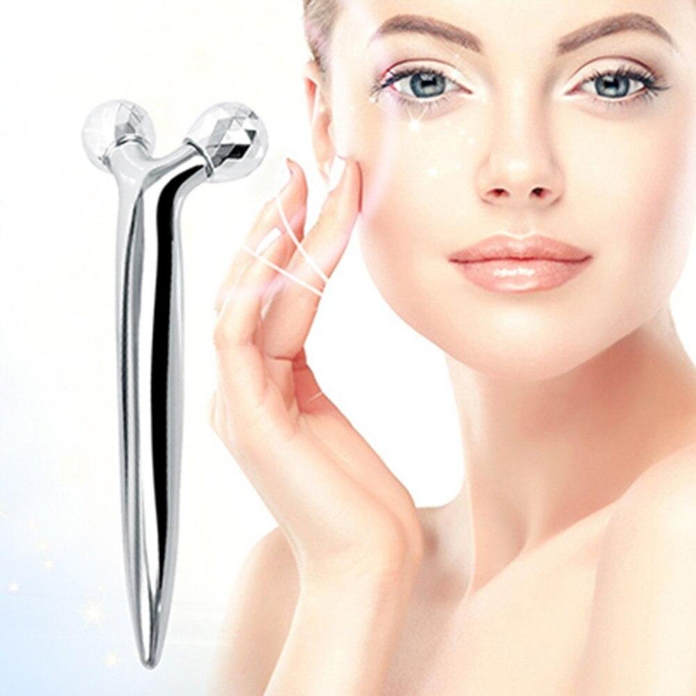 DH-X57 Eye Massage Roller 3D Face Massager Waterproof Face Lifting Roller  3D Roller Massager 360 Rotate Massage Relaxation new