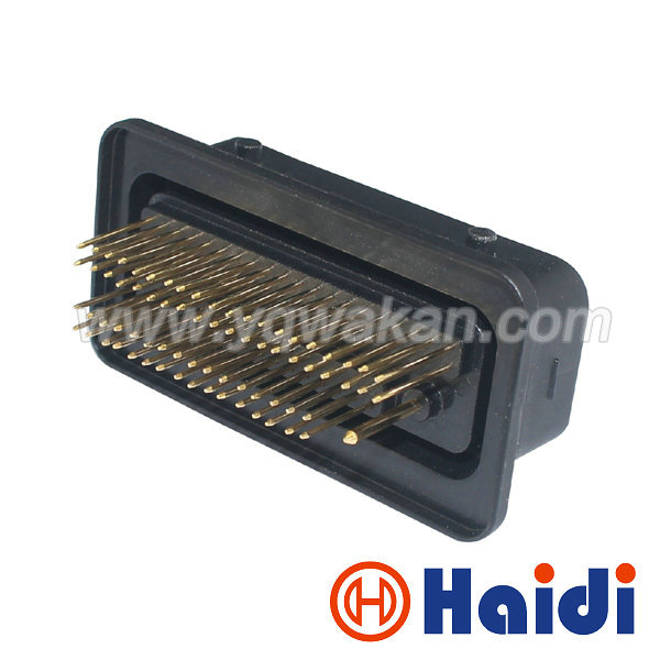 Free shipping 1set delphi auto 73pin ECU wire plug automotive cable male connector 15358860 15357142 15452126 free shipping 1set 55pin ecu auto electric cable connector with terminals 368005 1