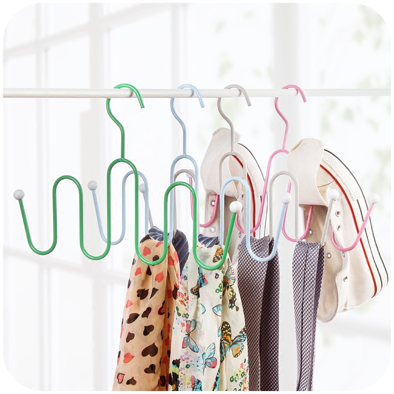 Multifunctional clothes support clothes drying racks hanging clothes racks hanging home clothing shoes racks
