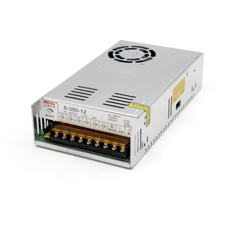 S-350W-12V30A Switching Power Supply Monitor Video LED Electric Machinery Fan Change DC Package Postal s 350 24 350w 24v non waterproof aluminium switching power supply cooling fan