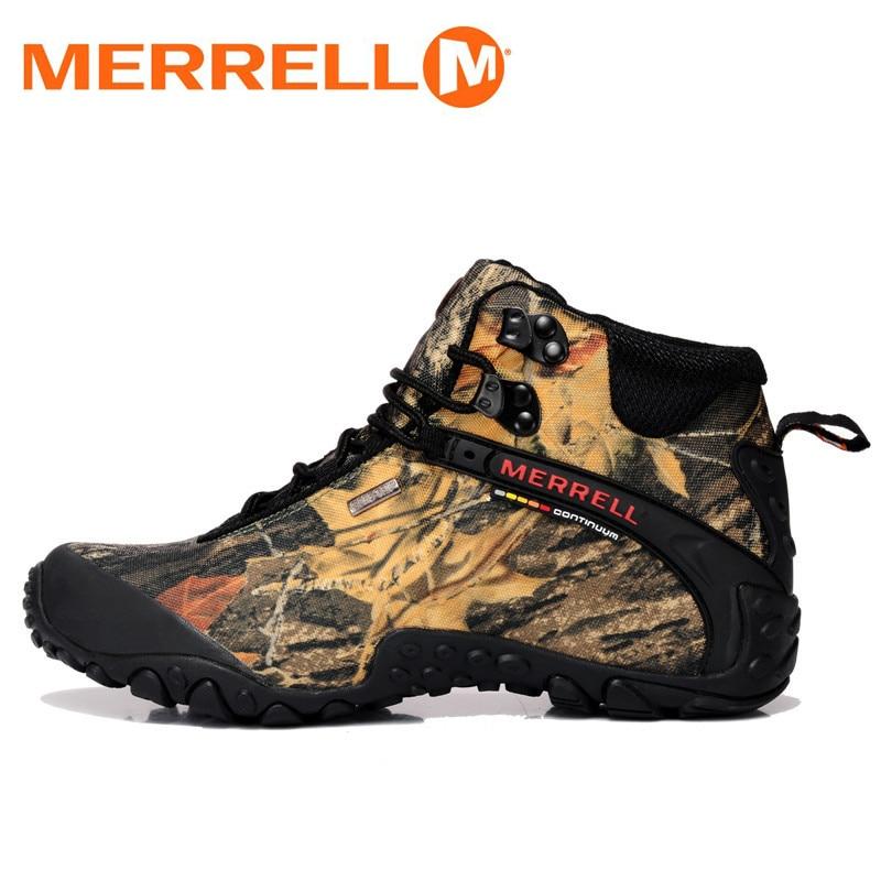 bajo costo diseño exquisito promoción especial €62.76 |Merrel bosque y desierto camuflaje Unisex hombres y mujeres  senderismo al aire libre zapatillas para Trekking escalada montaña zapatos  36 ...