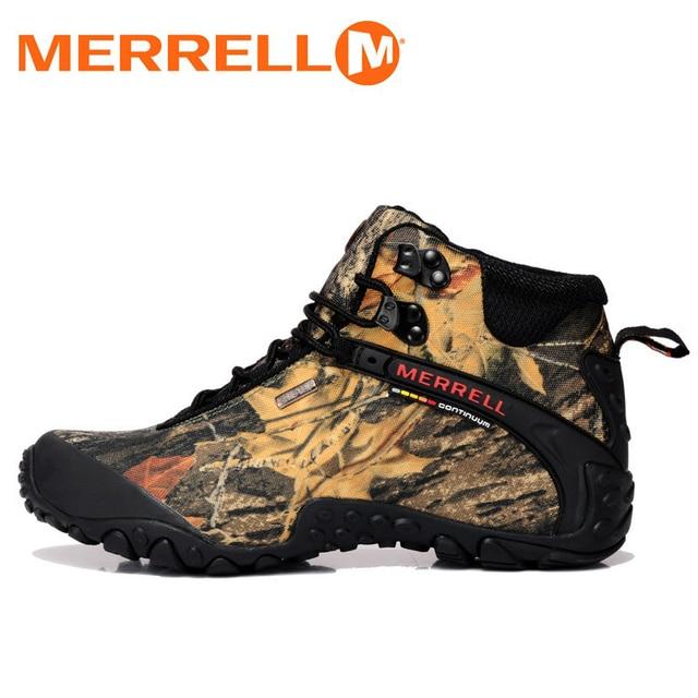 Merrell Hutan   Desert Kamuflase Unisex Pria dan Wanita Hiking Sepatu  Outdoor Untuk Trekking Climbing Gunung 821cdc3300