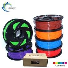 PLA 1 75mm Filament 1KG Printing Materials Colorful For 3D Printer Extruder Pen Rainbow Plastic Accessories