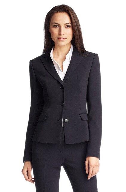 Pantalones Mujer Sale Vysoce kvalitní obleky na míru Nové nové námořní uniformní vzory Dámské obchodní formální kancelář pro dámy