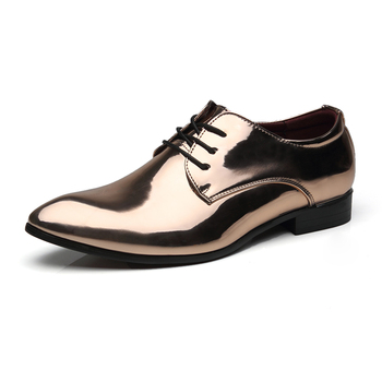 Ligentleman Brand Classic Genuine Leather Men Whole Cut Plain Oxford Lace Up Wedding Party Man Brown Dress Shoes Brogue Carved
