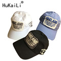 The new spring and summer 2017 han edition affixed cloth embroidery cotton baseball cap riding hat shading sun hats for men and