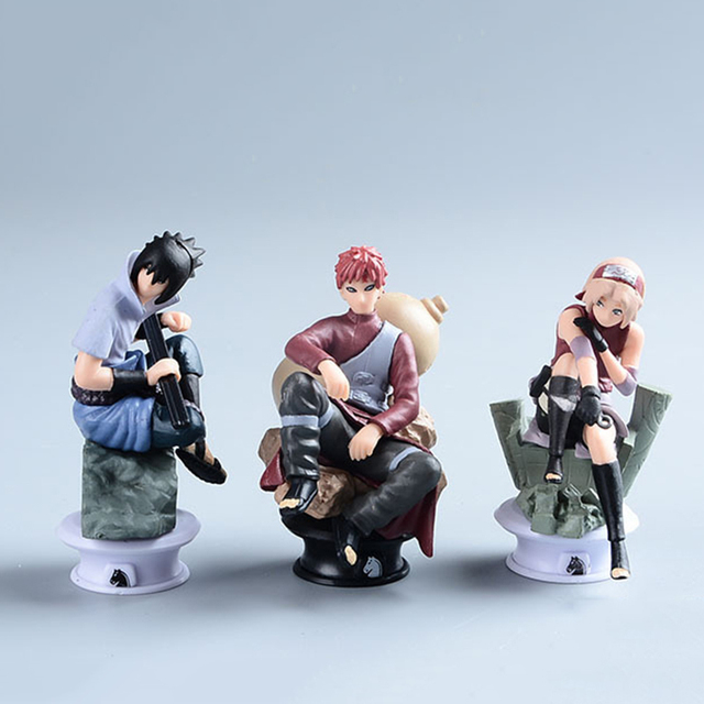 Naruto 6 Piece Model Set (Special)