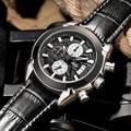 2016 JEDIR Men Watches Top Popular Brand Luxury Hot Sport Quartz Chronograph Watch Men Black Watches Male Whatch Erkek Kol Saati