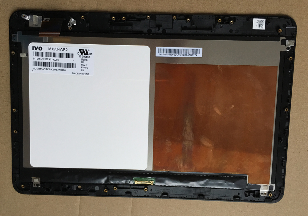 12 5 inch For ASUS T300FA T300F Assembly LCD Touch screen