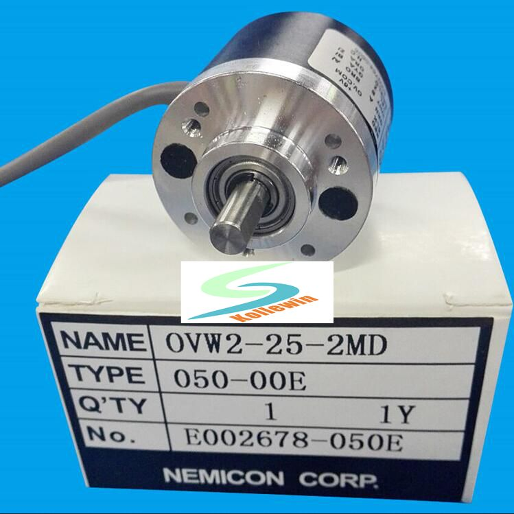 OVW2-25-2MD Spot within the control OVW2-25-2MD rotary encoder 2500P / R pulse shaft diameter 6mm Quality Assurance, new in box ovw2 12 2mhc 1200p r 38 mm solid shaft rotary encoder diameter 6 mm diameter of axle new in box free shipping