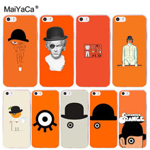 MaiYaCa A «Заводной Апельсин» модный Coque Shell чехол для телефона Apple iPhone 8 7 6 6 S Plus X 5 5S SE 5C Чехол XS XR XSMAX(China)
