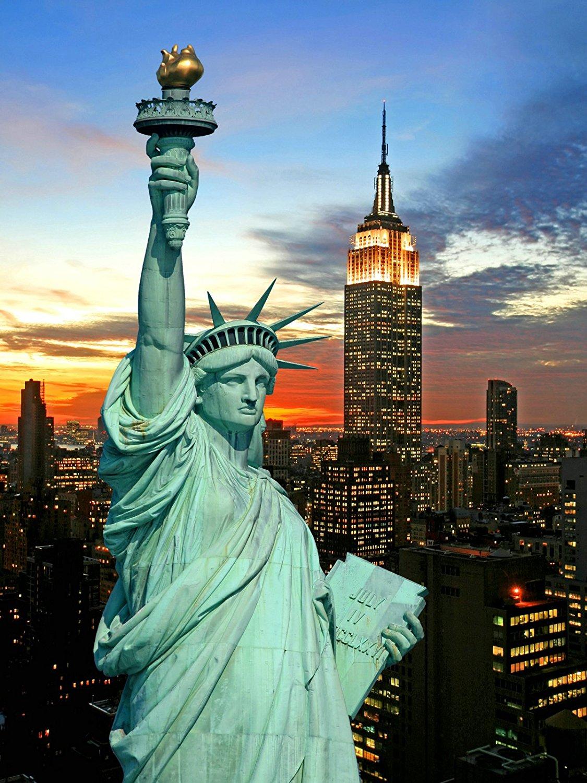 New York City Photography Background Vinyl Cloth High