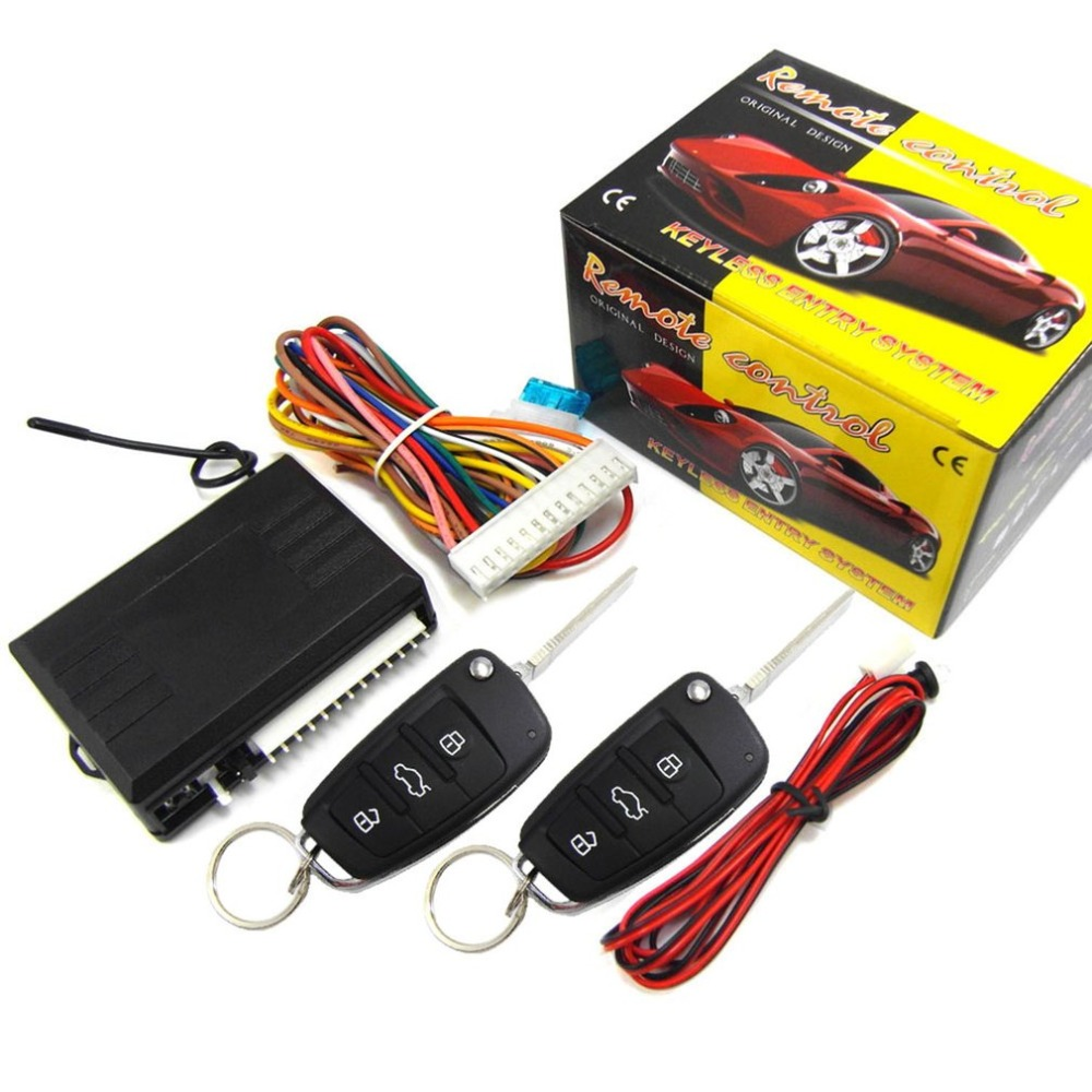 M616-8118 Car Remote Control Central Lock Alarm Device With Motor System image
