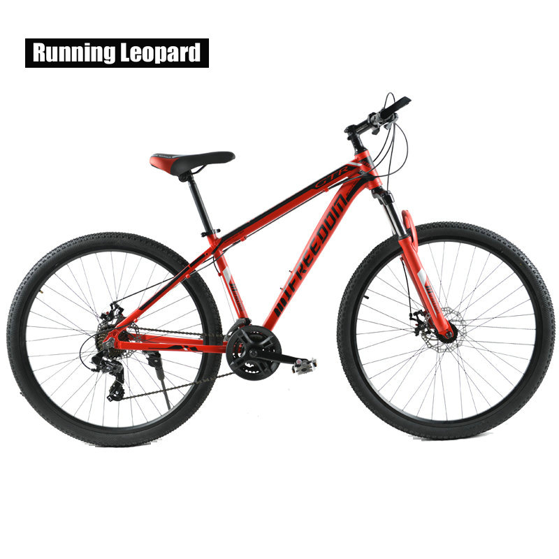 Mountain Bike Double Disc 29 Inch 24 Speed Bicycle Of Male And Female Students Aluminum Alloy Mountain Bicycles mountain bike four perlin disc hubs 32 holes high quality lightweight flexible rotation bicycle hubs bzh002